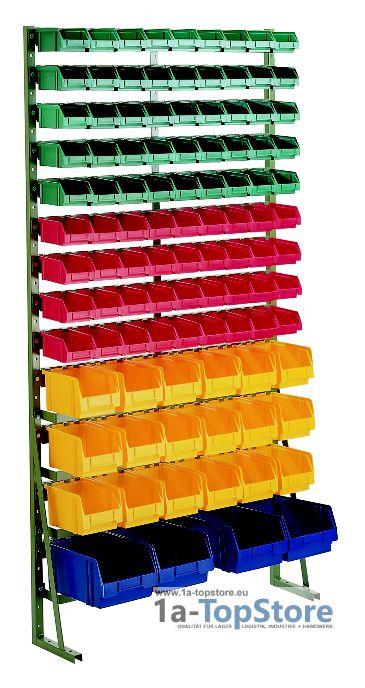 normregal n 15g mit 103 lagerk sten 351 75 lager und t. Black Bedroom Furniture Sets. Home Design Ideas