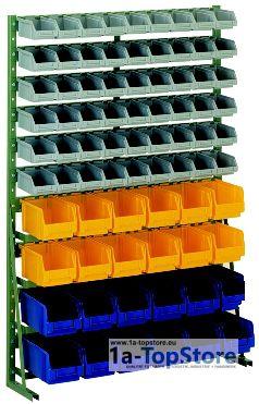 normregal n 12h mit 78 lagerk sten 296 70 lager und tr. Black Bedroom Furniture Sets. Home Design Ideas