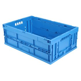 Faltbox FB 6/220, blau, 600 x 400 x 220 mm,Wände u. Boden...