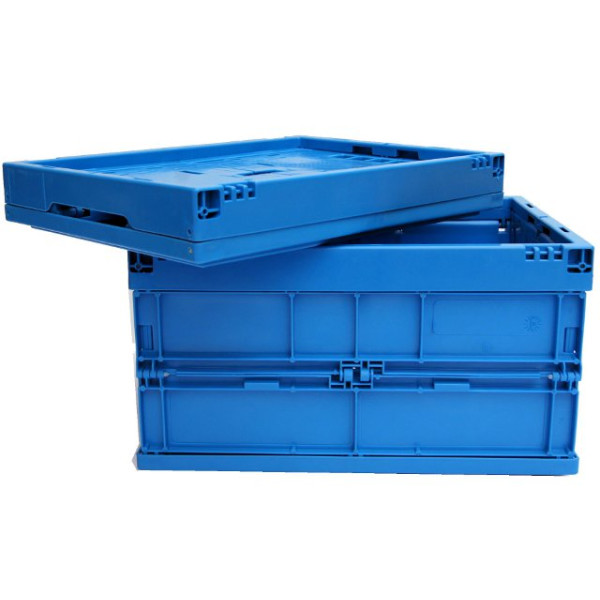 Faltbox FB 4/220, 400 x 300 x 220 mm (LxBxH), blau, 22 Liter
