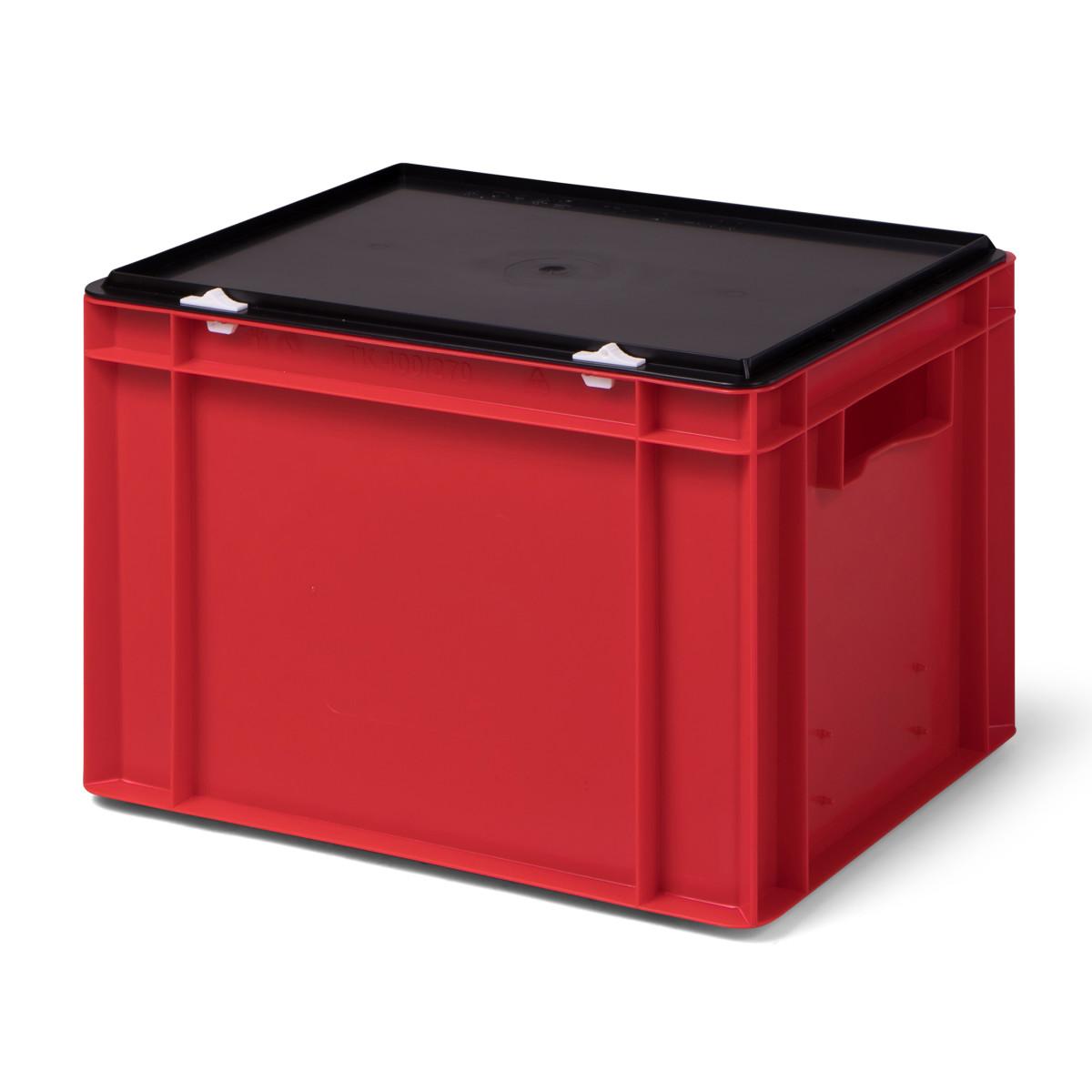 transport stapelbox k tk 400 270 0 mit schwarzem. Black Bedroom Furniture Sets. Home Design Ideas
