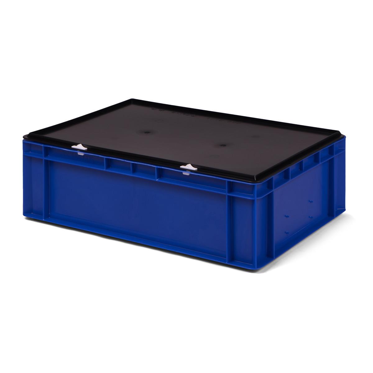 transport stapelbox k tk 600 175 0 mit schwarzem. Black Bedroom Furniture Sets. Home Design Ideas