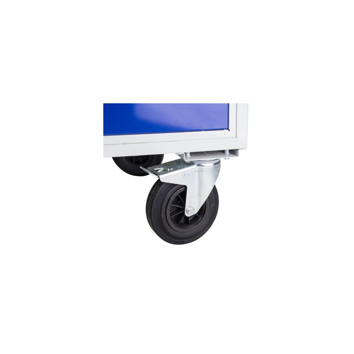 werkbank tischwagen auf rollen mit 4 schubladen ablagefach u buchen 397 33. Black Bedroom Furniture Sets. Home Design Ideas