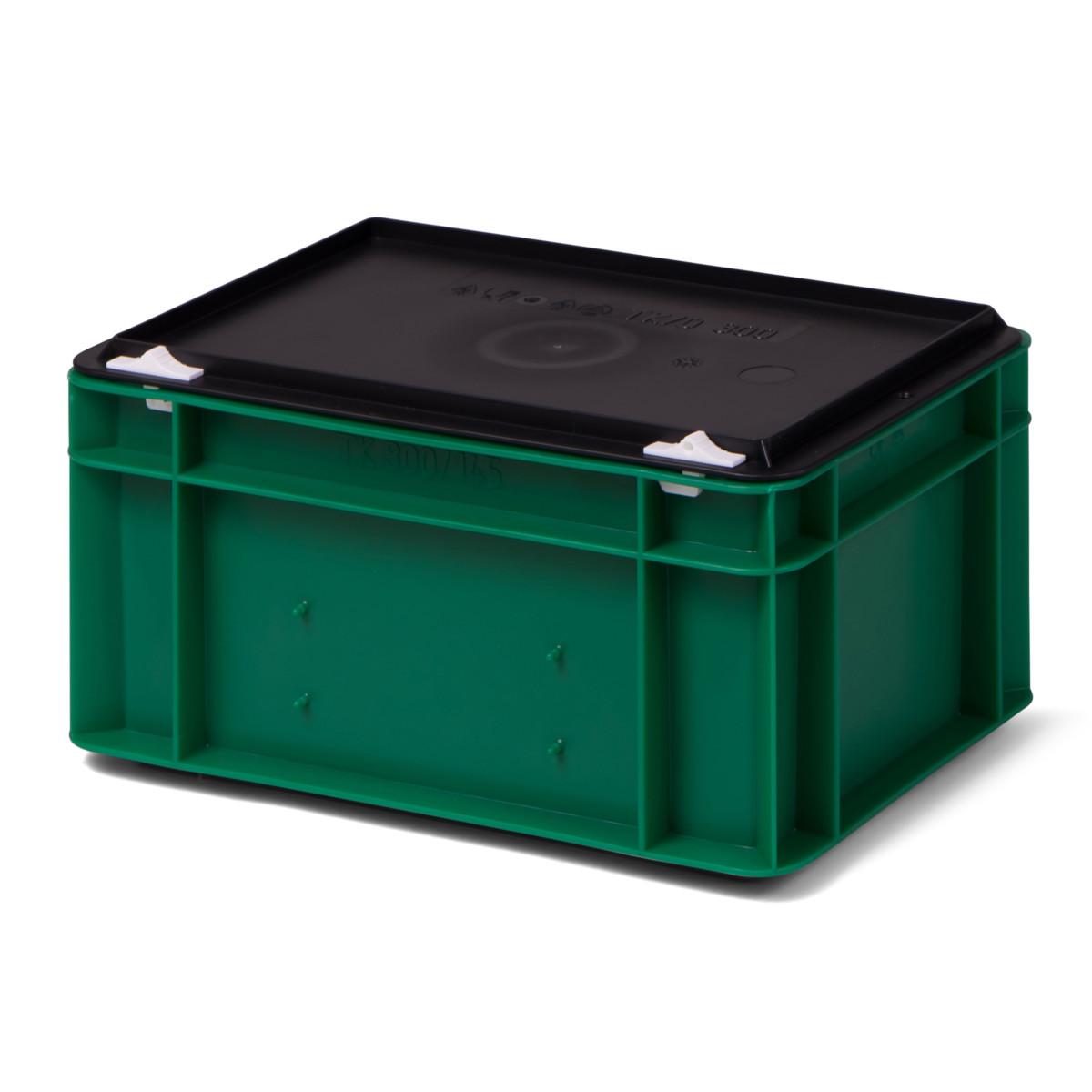 transport stapelbox k tk 300 145 0 mit schwarzem. Black Bedroom Furniture Sets. Home Design Ideas