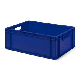Transport-Stapelkasten TK 600/210-0, blau, 600x400x210 mm...
