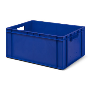 Transport-Stapelkasten TK 600/270-0, blau, 600x400x270 mm...