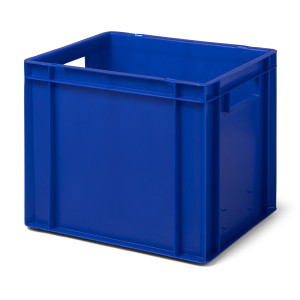 Transport-Stapelkasten TK 400/320-0, blau, 400x300x320 mm...
