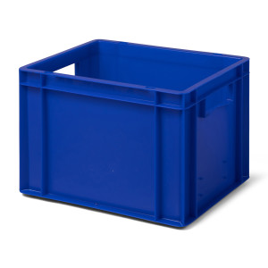 Transport-Stapelkasten TK 400/270-0, blau, 400x300x270 mm...
