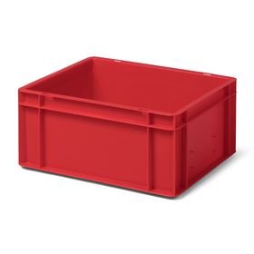 Transport-Stapelkasten TK 400/175-0, rot, 400x300x175 mm...