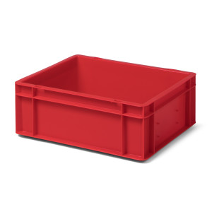 Transport-Stapelkasten TK 400/145-0, rot, 400x300x145 mm...
