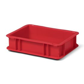 Transport-Stapelkasten TK 300/75-0, rot, 300x200x75 mm...