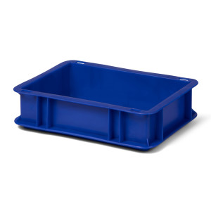Transport-Stapelkasten TK 300/75-0, blau, 300x200x75 mm...
