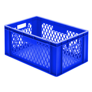 Transport-Stapelkasten TK 600/270-1, blau, 600x400x270 mm...