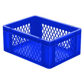Transport-Stapelkasten TK 400/175-1, blau, 400x300x175 mm...