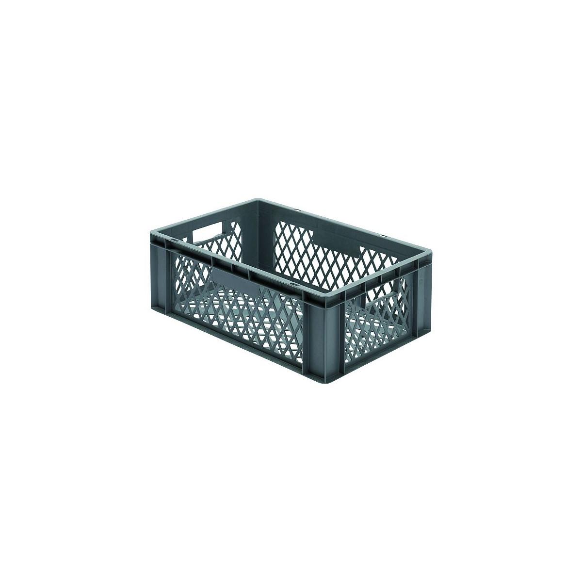 transport stapelkasten tk 600 210 2 grau 600x400x210 mm lxbxh w 13 90. Black Bedroom Furniture Sets. Home Design Ideas