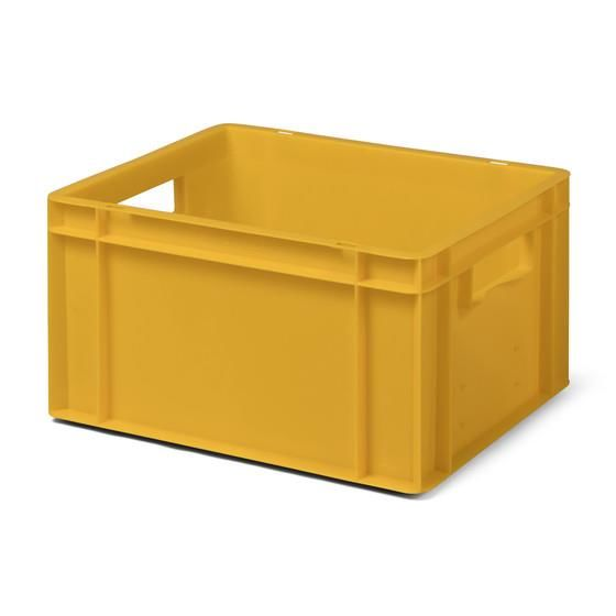 Euro-Format Stacking Container TK 400/210-0, 210x400x300 mm (HxWxD), closed walls - bottom, 19 Litre, Mat.: Polypropylene